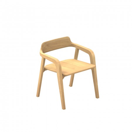Rote Arm Chair